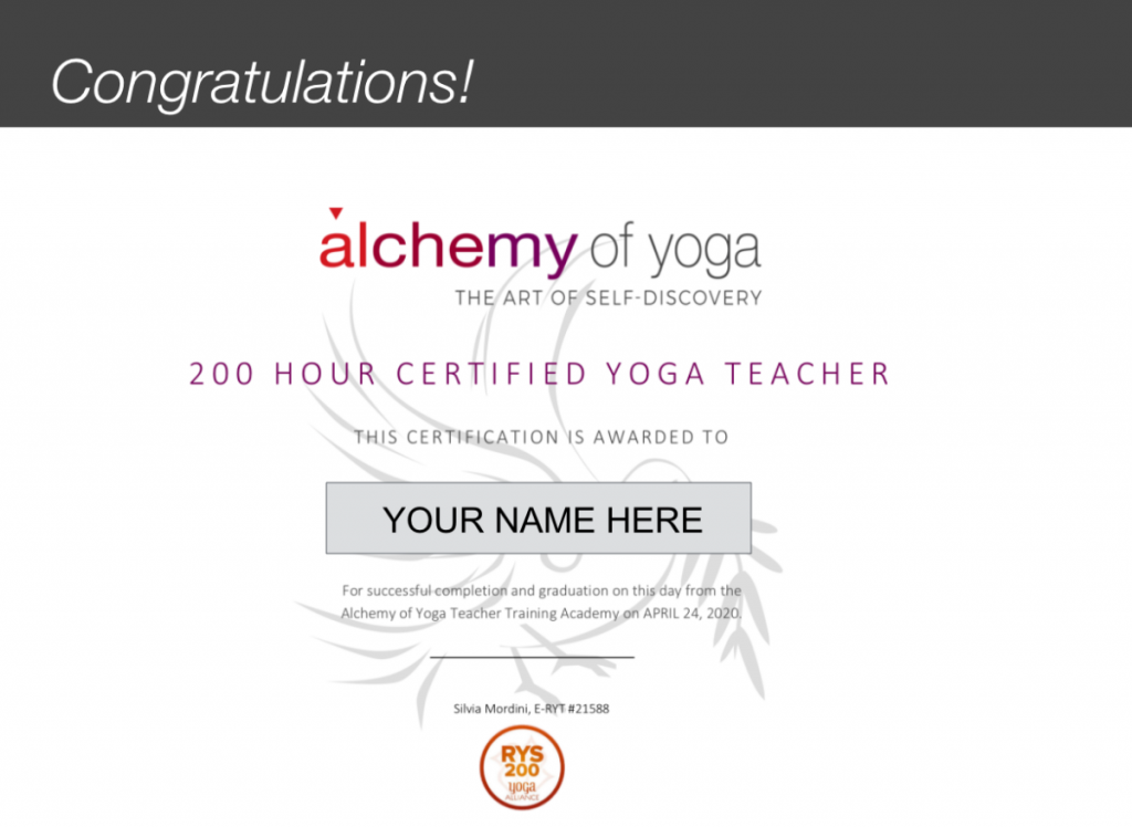 AofY Certificate